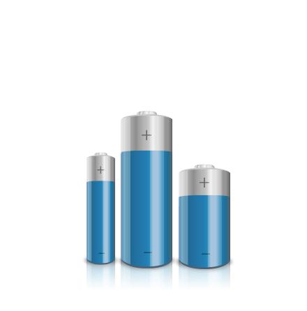 Batteri - Inomhus- eller utomhussiren